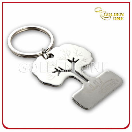 Factory Supply Novelty Die Casting Metal Promotion Keychain