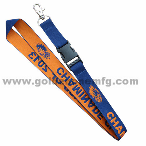 Personalised Double Side Printed Polyester Lanyard
