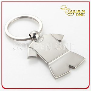 Promotion Sport T Shirt Shape Metal Keychain
