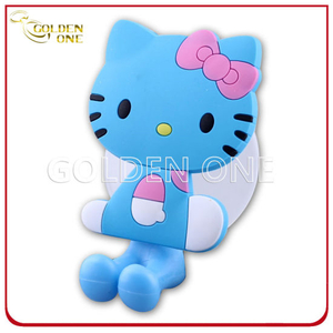 High Quality Fancy Design Cartoon Embossed Printing Soft PVC Hanger