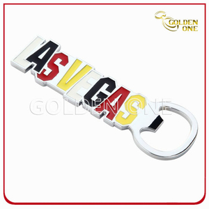 Custom Las Vegas Souvenir Gifts Metal Bottle Opener