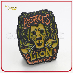 Factory Direct Sales Cheap Custom Fancy Lion Metal Lapel Pin