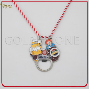 Factory Price Custom Souvenir Carnival Medal Bottle with Can Opener Kitchen Tools Craft Trophy Mimitary Coin Medallion for Gift