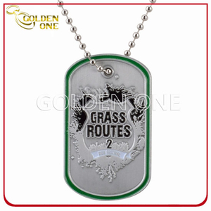 Customized Iron Stamped Soft Enamel Metal Dog Tag