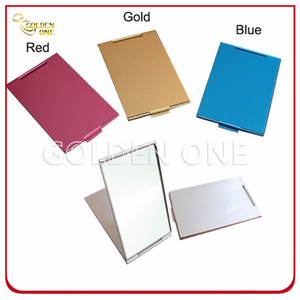 Fashion Colorful Double Sided Aluminum Make up Mirror