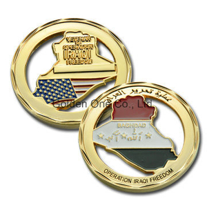 Custom Gold Plated Souvenir Coin
