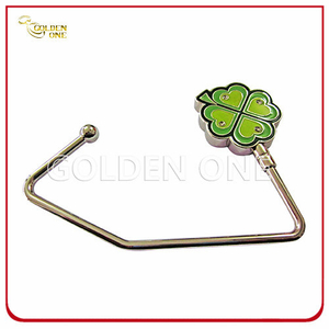 Hot Selling Clover Shape Epoxy Coating Bag Hook