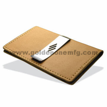 Promotion Gift Square Shape Nickel Plated Money Clip