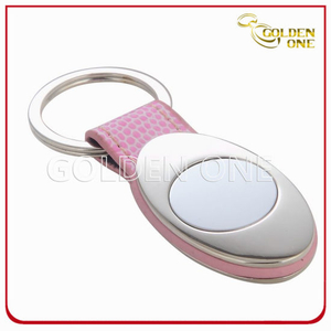 Well Design Good Quality Promotion PU Leather Key Ring