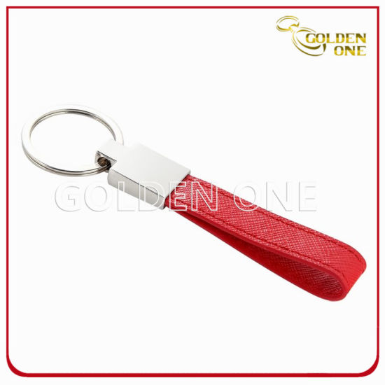 Good Quality Custom Design Leather Keyring for Promotion