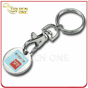 Promotion Iron Soft Enamel Custom Trolley Coin Keychain