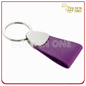Well Design Promotion Gift PU Leather Key Ring