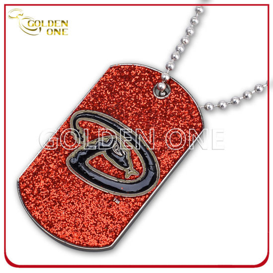 Promotional Gift Printed Epoxy Coating Metal Dog Tag