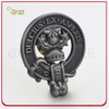 Customized Die Cut Antique Silver Plated 3D Metal Pin