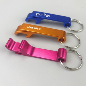 Cheap Price Multi Color Aluminium Bottle Opener Keychain