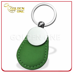 Hot Sale Promotion Gift PU Leather Key Tag