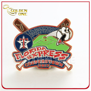 Custom Made Baseball Soft Enamel Metal Trading Pin