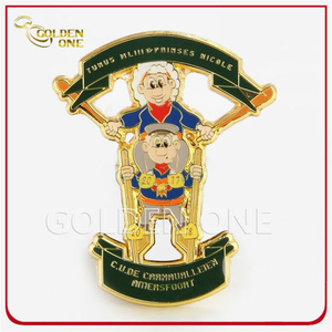 Gold Plated Promotional Custom China Wholesale Enmael Metal Lapel Pins