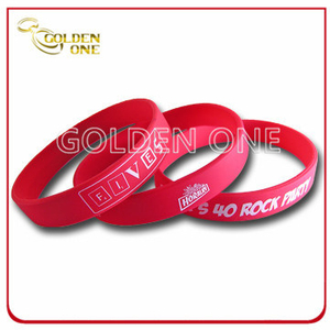 Best Selling Promotional Gifts Pure Color Silicone Bracelet