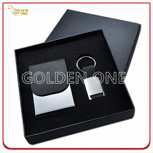 Business Metal Card Holder and Key Chain Gift