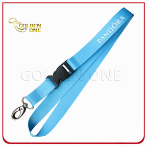 Various Style Factory Direct Price Pure Color Nylon Lanyard Strap