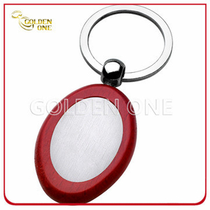 New Design Wooden Keychain with Brushed Finish Metal