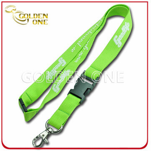 Rush Order Personalized Silk Screen Printed Nylon Neck Strap