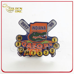 Cheapest Souvenir Custom Wholesale Offset Printing Lapel Pin