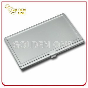 Luxury Design Pattern Metal Business Name Card Holder