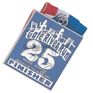 Custom Metal Soft Enamel Nickel Plated Sport Souvenir Medal