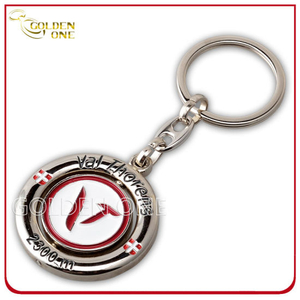 Die Casting Zinc Alloy Metal Spinning Keychain