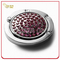 Red Crystal Stone Decoration Circle Shape Bag Holder