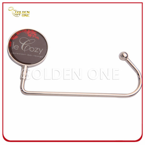 Custom Epoxy Coating Round Shape Metal Bag Holder