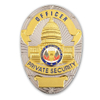 Custom Souvenir Metal Detective Officer Sheriff Security Military Police Enamel Pin Badge